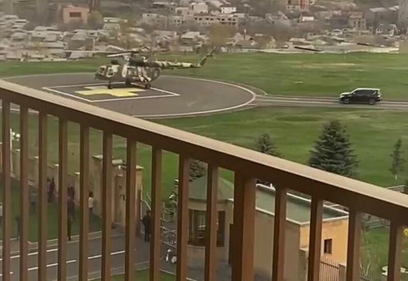 Глава Генштаба Армении сбежал на вертолете из здания Минобороны