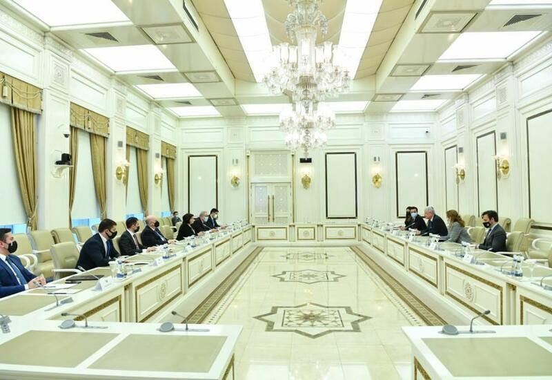 Сахиба Гафарова встретилась с председателем 75-й сессии Генеральной ассамблеи ООН