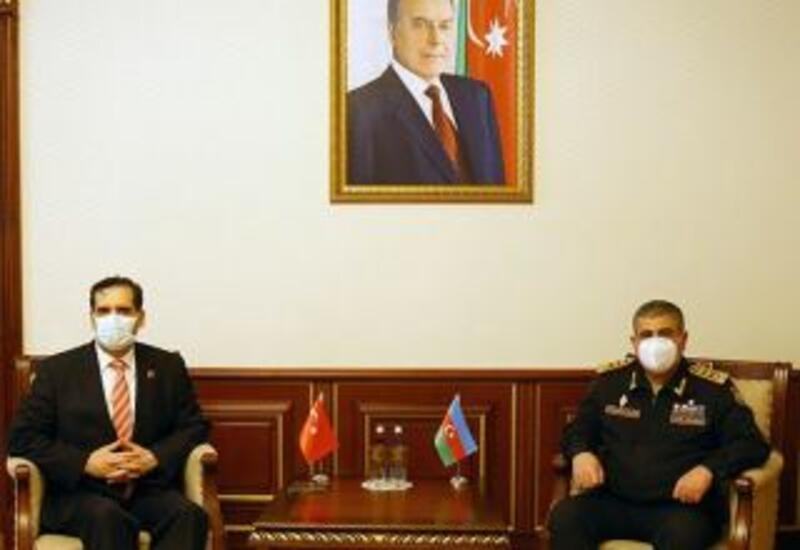 Закир Гасанов встретился с послом Турции