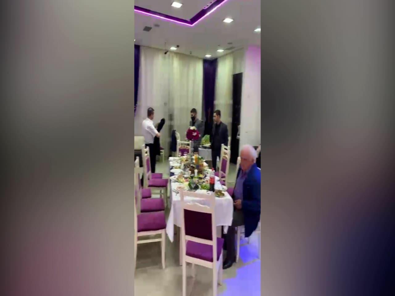 В Хырдалане пытались провести свадьбу
