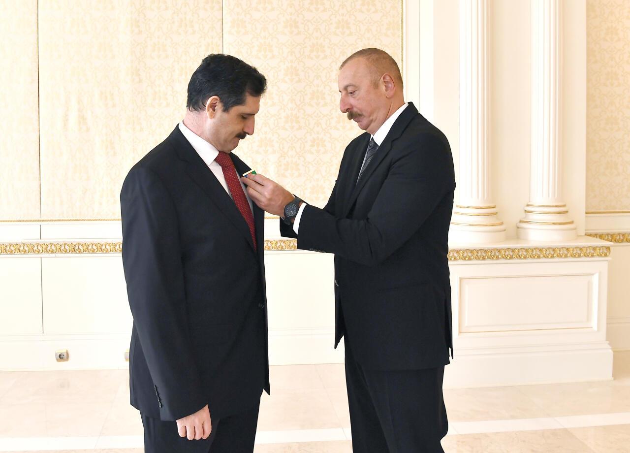 Президент Ильхам Алиев принял посла Турции в Азербайджане
