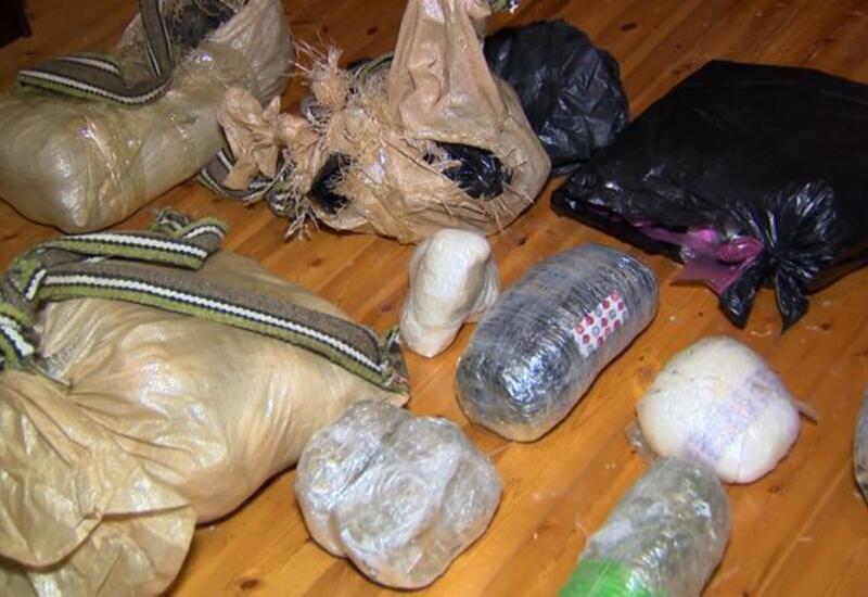 Полиция изъяла из оборота 64 кг наркотиков