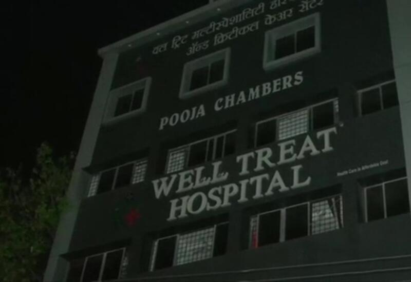Сильный пожар в COVID-больнице в Индии, есть жертвы