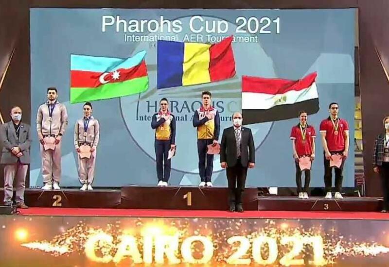 Азербайджанские гимнасты заняли второе место на соревнованиях в Египте