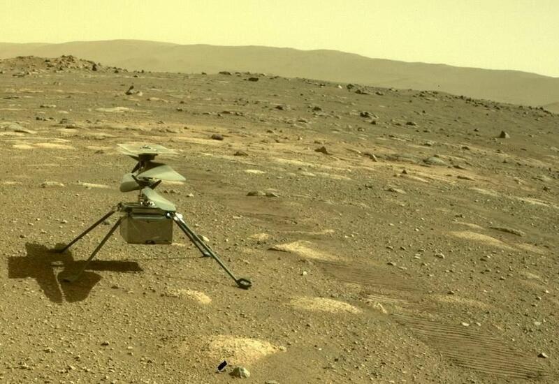 Вертолет НАСА совершит первый полет на Марсе