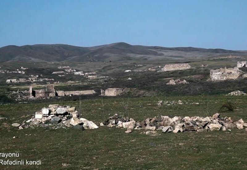Село Ашагы Рефединли Физулинского района