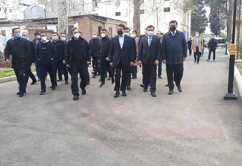 Начался визит делегации Тюркского совета в Гянджу