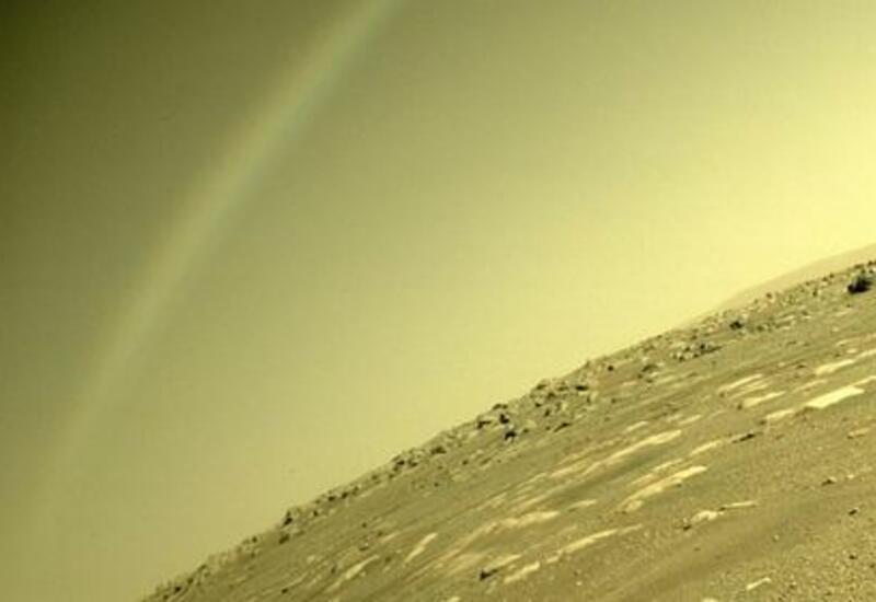 В НАСА объяснили «радугу» на Марсе