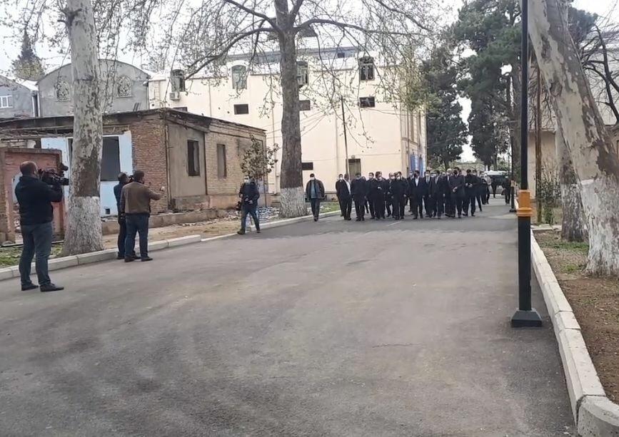 Визит делегации Тюркского совета в Гянджу