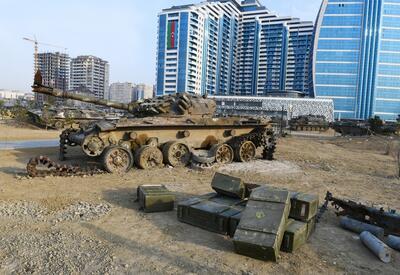Названа дата открытия Парка военных трофеев в Баку