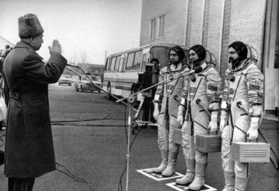 Роль азербайджанцев в освоении космоса - ФОТО