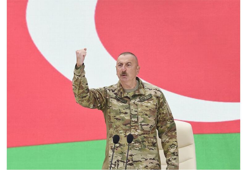 Президент Ильхам Алиев: Каждый человек, пришедший в Парк военных трофеев, увидит силу нашей Армии
