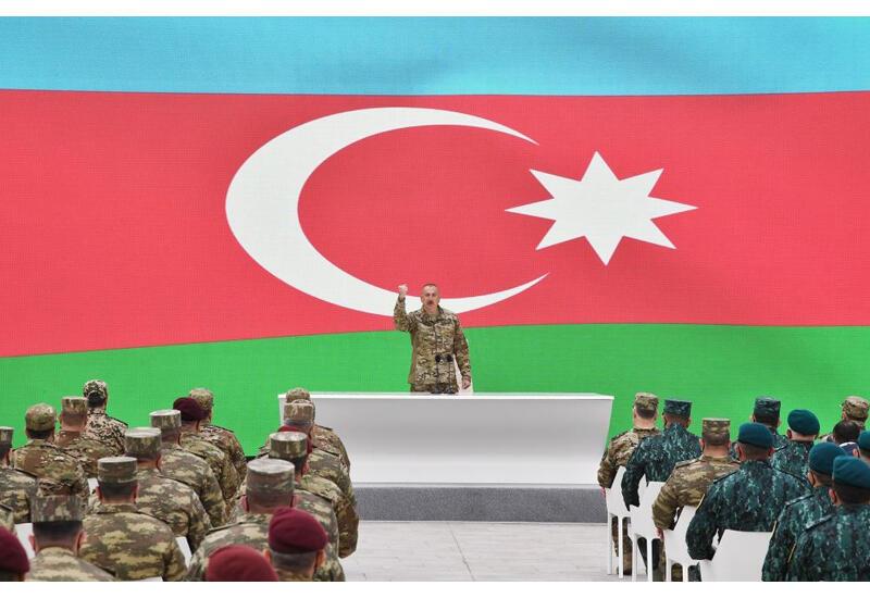 Президент Ильхам Алиев: Мы создали новую реальность пролив кровь, сегодня каждый должен считаться с нами