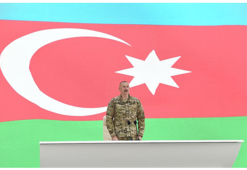 Президент Ильхам Алиев: Министр обороны в то время был их человеком, он обещал, что если Шуша будет сдана, то пустит себе пулю в лоб