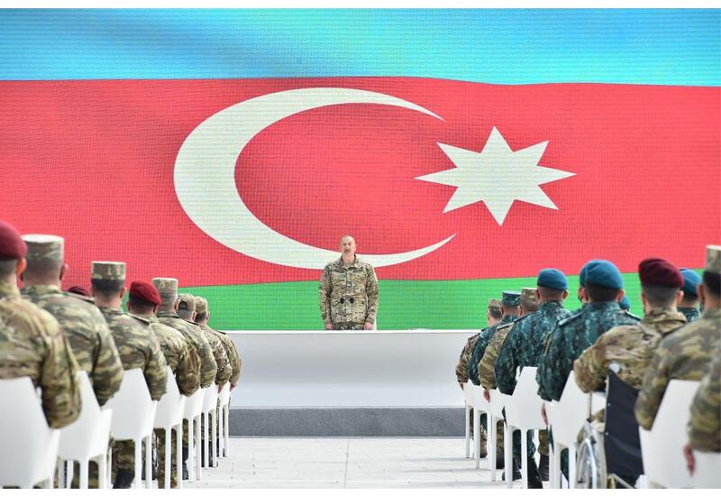 Президент Ильхам Алиев: Я говорил, что на наших землях никогда не может быть создано второе армянское государство