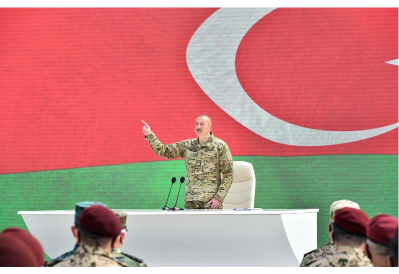 Президент Ильхам Алиев: Я обещал, что буду защищать территориальную целостность и сдержал слово
