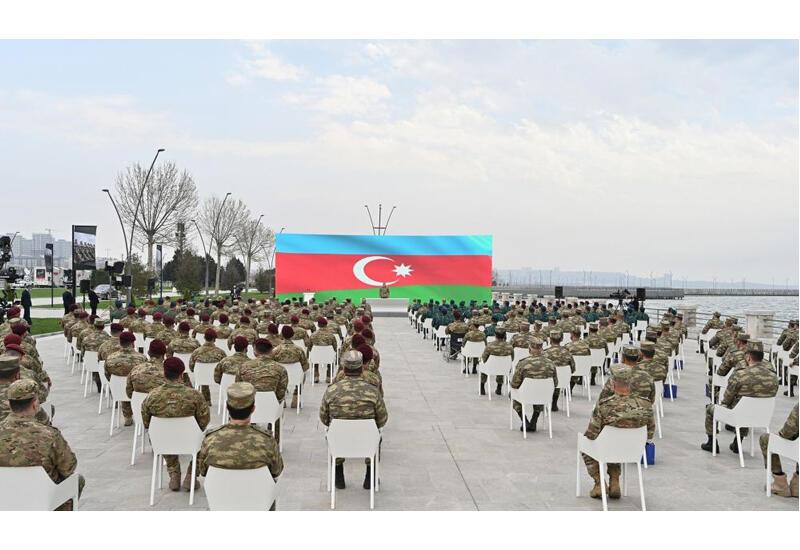 Президент Ильхам Алиев: Армения является страной, павшей на колени перед нами, и так будет всегда