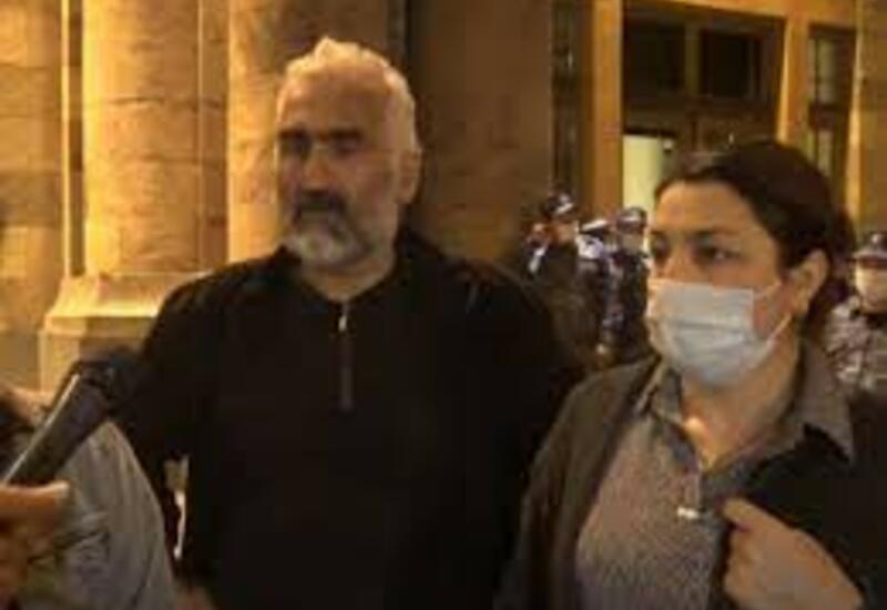 Родители армянских военных протестуют