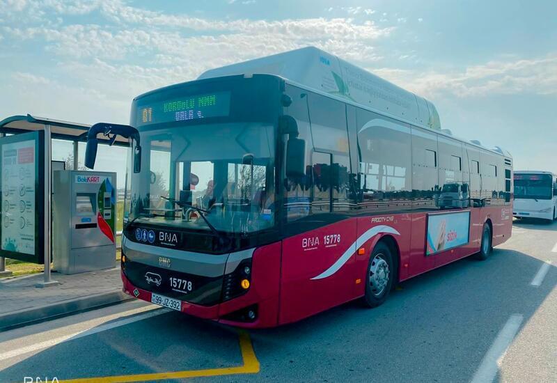 В Баку запущен новый автобусный маршрут