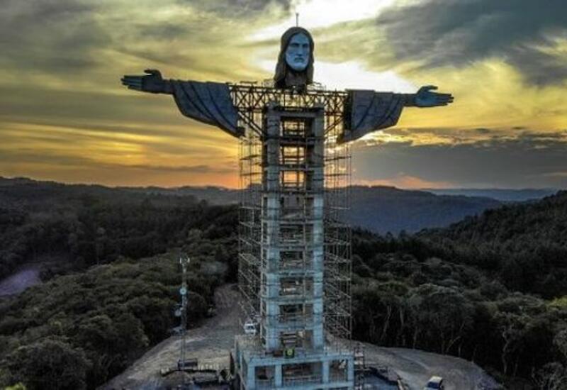 В Бразилии строят новую статую Иисуса Христа