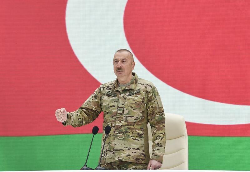 Президент Ильхам Алиев: Некоторым реваншистским силам в Армении следует знать, что железный кулак остается на месте