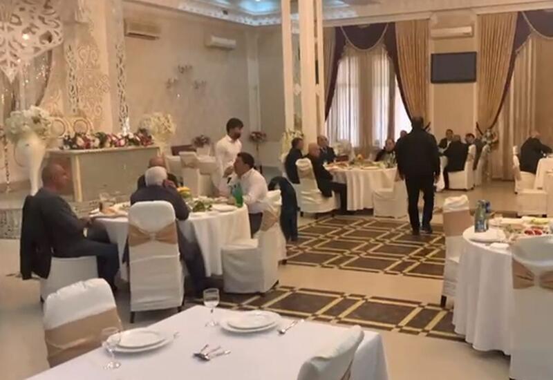 В известном бакинском ресторане пресечена свадьба, гости оштрафованы