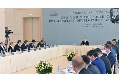 Президент Ильхам Алиев: Азербайджан за три года завершит в Карабахе основные инфраструктурные проекты