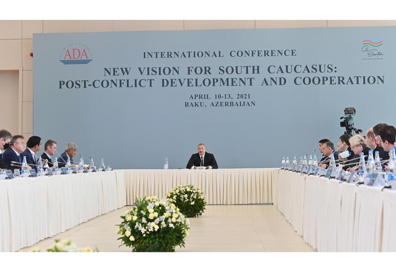 Президент Ильхам Алиев: Азербайджан выступал за скорейшее урегулирование конфликта