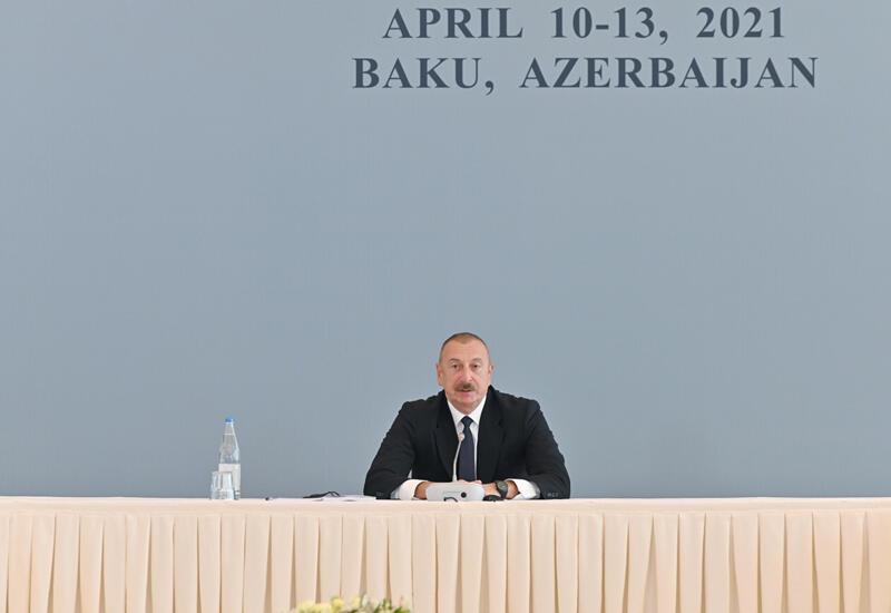 Президент Ильхам Алиев: Зангезурский коридор обеспечит интересы всех стран региона