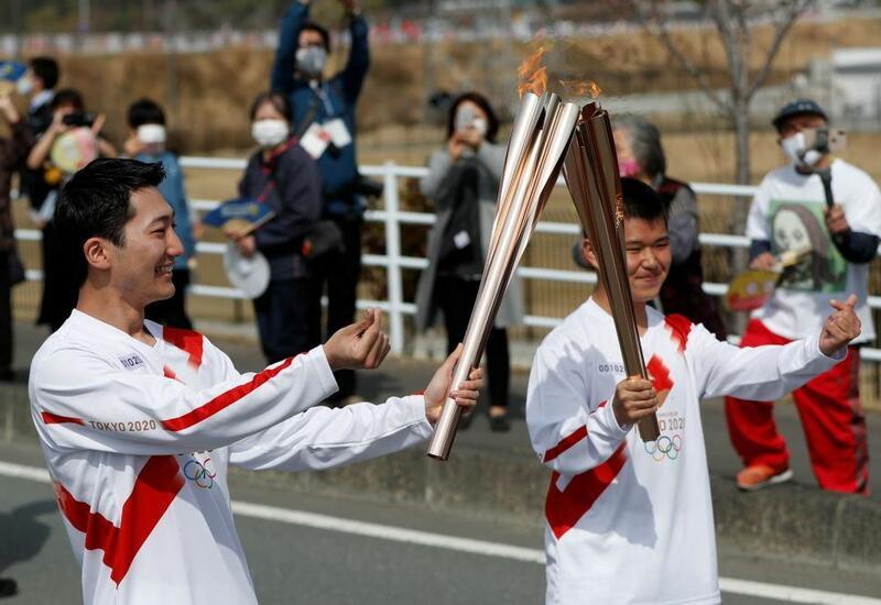 В Японии эстафета олимпийского огня впервые проходит без зрителей