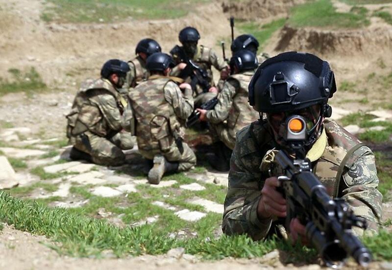 В миротворческих подразделениях ВС Азербайджана проведены учебные тренировки