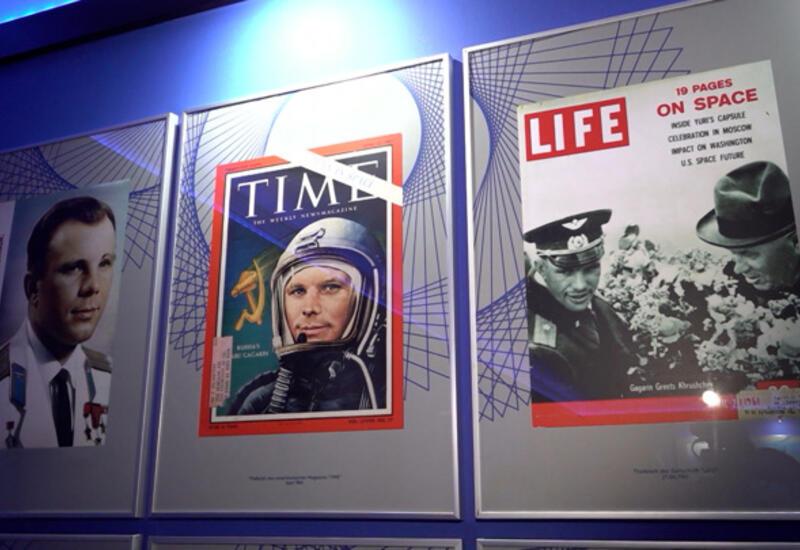 В Берлине открылась уникальная выставка в память о Гагарине