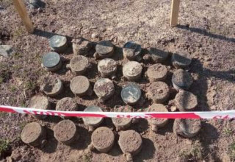 В освобожденном Карабахе обезврежено сотни мин и неразорвавшихся боеприпасов