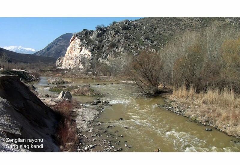 Село Сарыгышлаг Зангиланского района