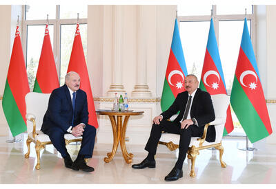 Состоялась встреча Президентов Азербайджана и Беларуси один на один - ФОТО - ВИДЕО