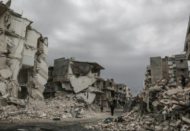 Сирия потребовала от США компенсации ущерба за разрушения в стране