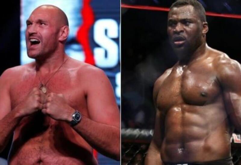 Тайсон Фьюри отреагировал на вызов чемпиона UFC в тяжелом весе