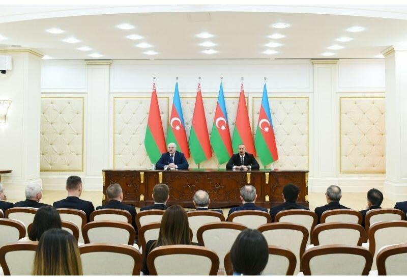 Президент Ильхам Алиев: Уже компании из трех дружественных стран работают в проектах по восстановлению Карабаха