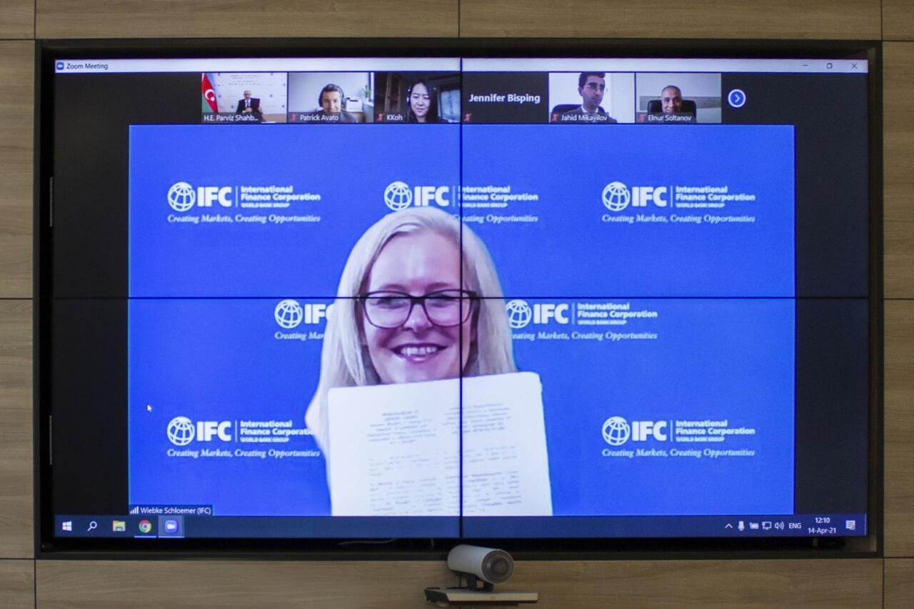 Минэнерго Азербайджана подписало Меморандум о взаимопонимании с МФК в области морской ветроэнергетики