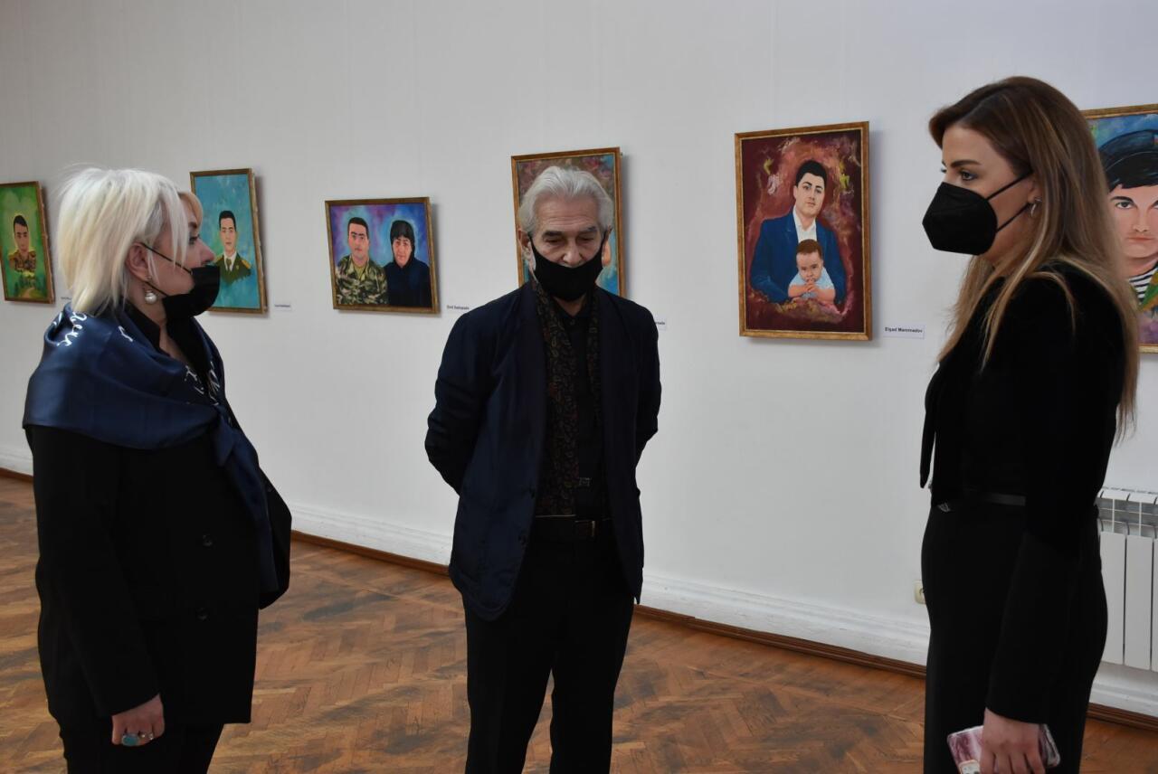 В Азербайджане открылась выставка, посвященная светлой памяти шехидов