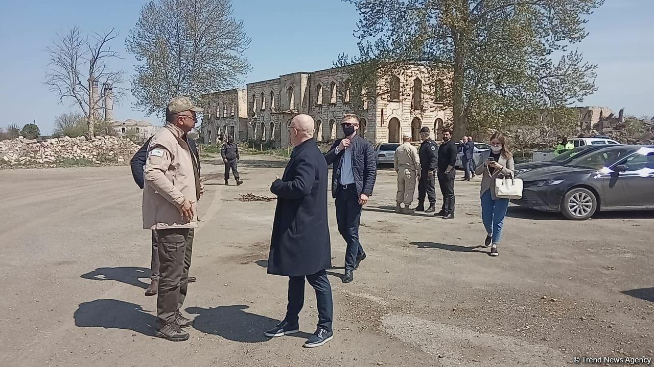 Вице-премьер Украины посетил Агдам