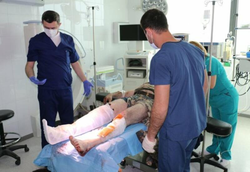Азербайджанские военные спасли в Джебраиле раненного армянского командира МЧС
