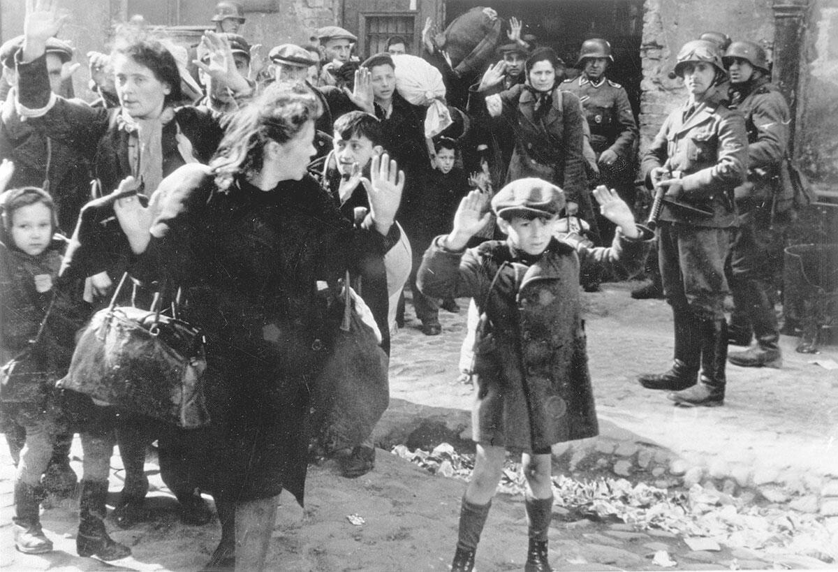 Варшавское гетто сопротивлялось нацистам дольше, чем целая Франция