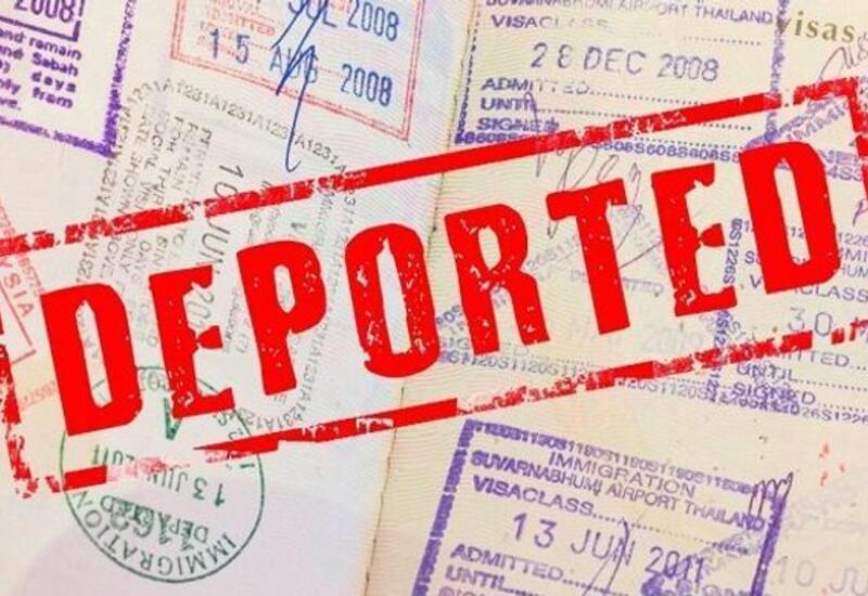 Объявлено количество депортированных из Азербайджана иностранцев
