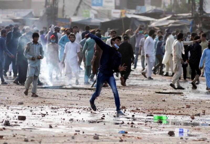 Антифранцузские выступления в Пакистане