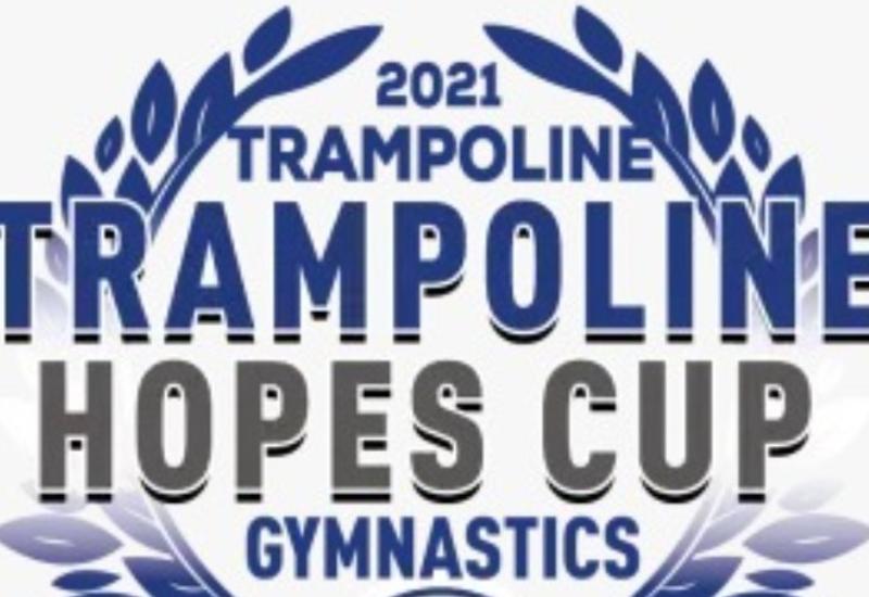 Азербайджанские гимнасты завоевали полный комплект наград турнира Trampoline Hopes Cup