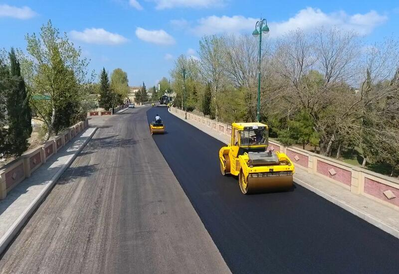 В Тертере восстанавливаются дороги