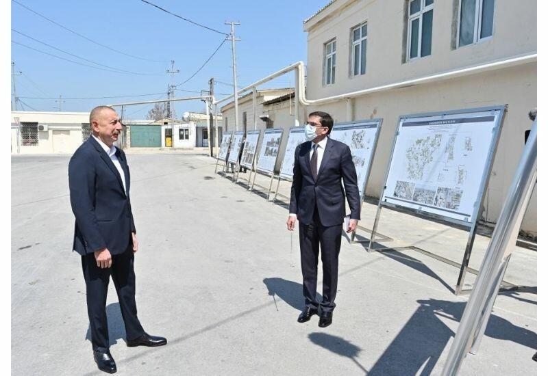 Президент Ильхам Алиев: В Пиршаги всегда был хороший виноград сорта «Шаны» – «Белый шаны», «Черный шаны»