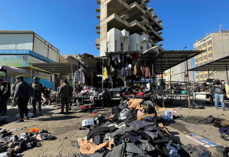 Взрыв на багдадском рынке