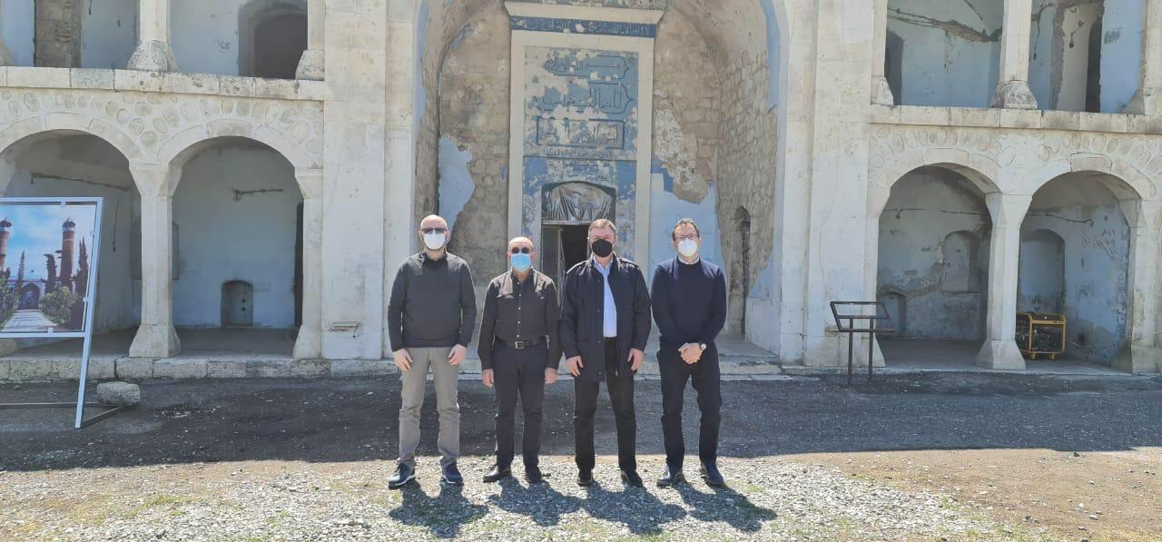 Делегация Сената Италии посетила Агдам